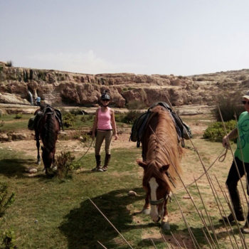 Balade Randonnee Cheval Essaouira Maroc - Equievasion