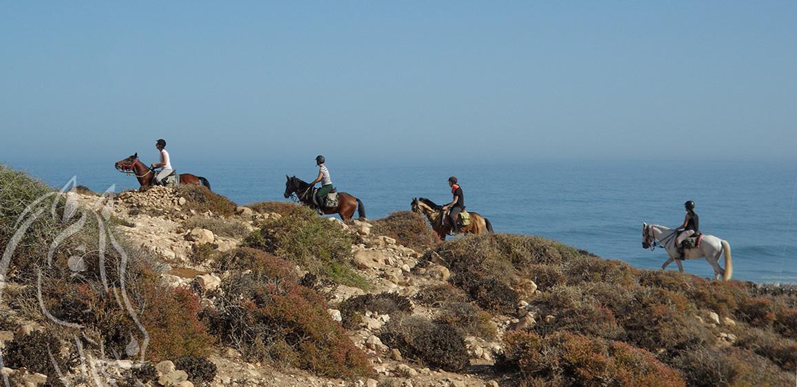 Randonnee Cheval Circuit Berbere Essaouira Maroc - Equievasion