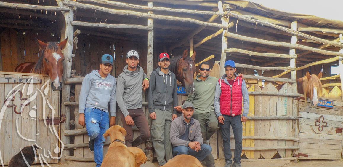 Team Equivasion Equestrian Ranch Essaouira Morocco